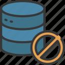 no, data, storage, information, prohibited