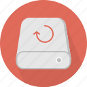 backup, database, hard-drive, storage icon