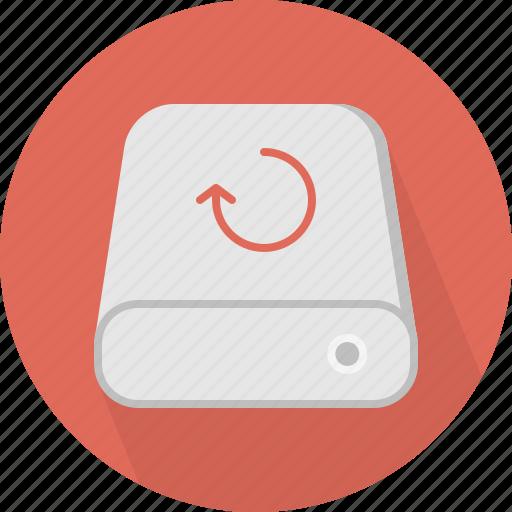 backup, database, hard-drive, storage icon