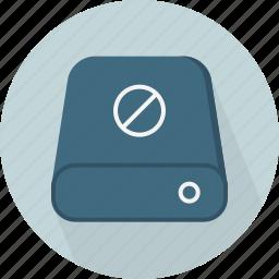 block, database, hard-drive, storage icon