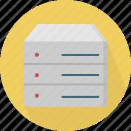 database, hard-drive, storage icon