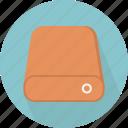 database, disk, hard, hard-drive, storage icon