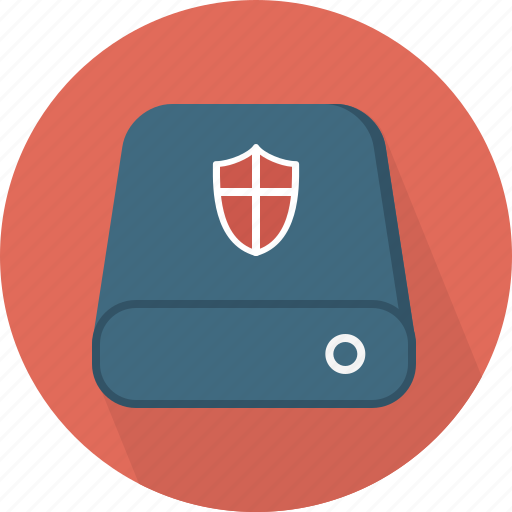 database, hard-drive, protection, storage icon
