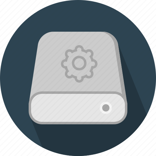 database, hard-drive, setting, storage icon