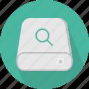 database, hard-drive, search, storage