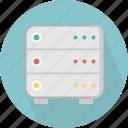 database, hard-drive, server, storage