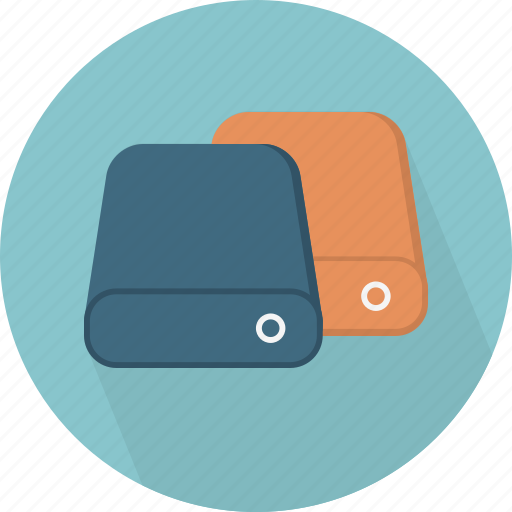 database, hard-drive, storage, storages icon