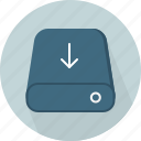 database, download, hard-drive, storage