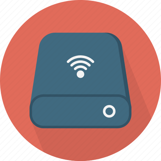 database, wifi icon