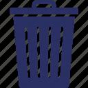bin, delete, dustbin, garbage icon