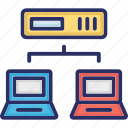 communication, computer networking, computershare, network icon
