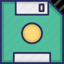 data storage, data transfer, disk, drive icon