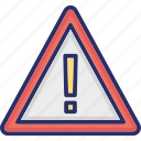 alert, attention, bug, data bug icon