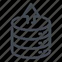 base, data, database, send, server, storage, upload icon