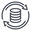 backup, data, database, recovery, return, server, storage
