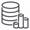 analytics, database, network, report, server, statistics, storage