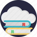 cloud computing education, cloud computing in education, cloud-based education, cloud-based learning, e-learning, online studies icon