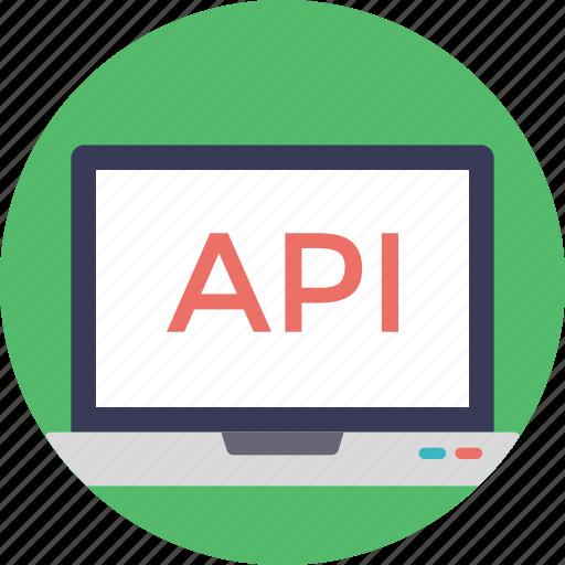 api, application, application software, programming interface, web api icon