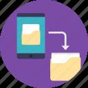 android backup, android backup app, mobile backup, mobile data recovery, mobile data restore icon