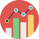 chart, dashboard, graph, graphical representation, statistics icon
