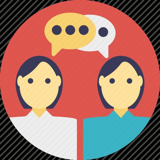 communicate at work, corporate communication, friends communicating, people communicating, social media icon