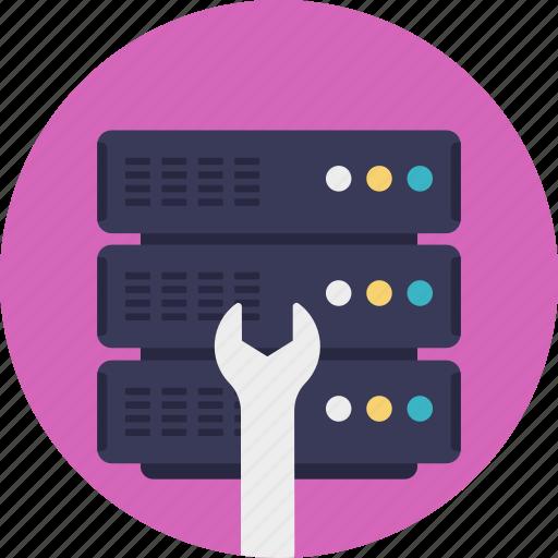 it support service, server maintenance, server repairing service, server support, server support service icon
