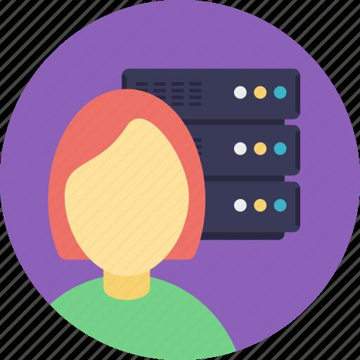 control of server, network administrator, network management, server admin, server administrator icon