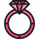 couple, date, life, love, ring, valentine icon