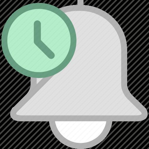 alarm, alert, ring icon