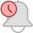 alarm, alert, ring icon