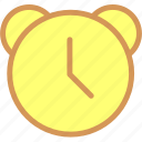 alarm, alert, ring, time, watch icon