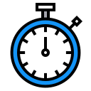clock, stopwatch, timer, time icon
