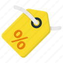 discount, ecommerce, money, price, sale, shopping, tag icon