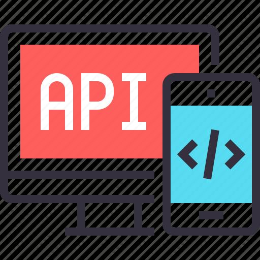 api, app, application, coding, development, program, software icon