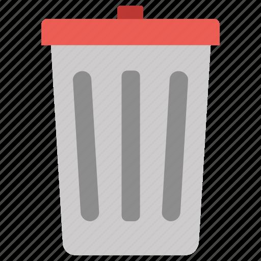 delete, dustbin, recycle bin, remove icon