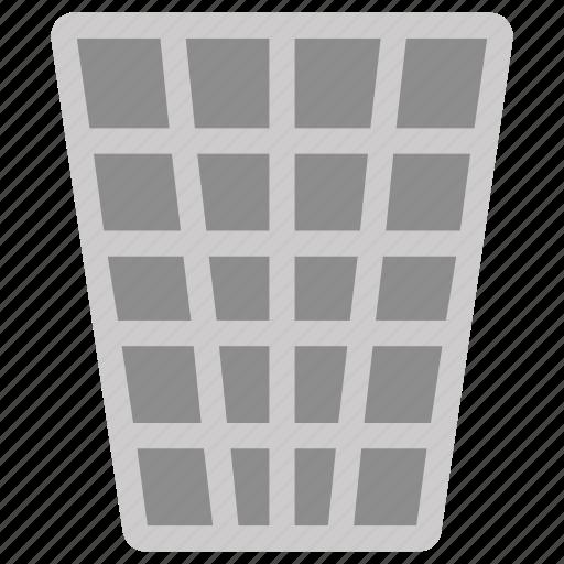 delete, dustbin, net, recycle bin, remove icon