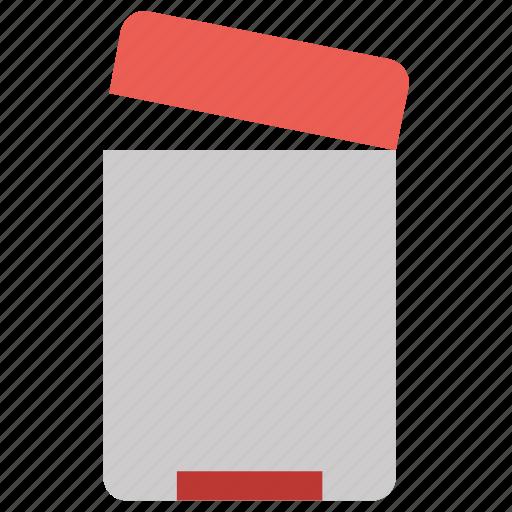 delete, dustbin, office, recycle bin, remove icon