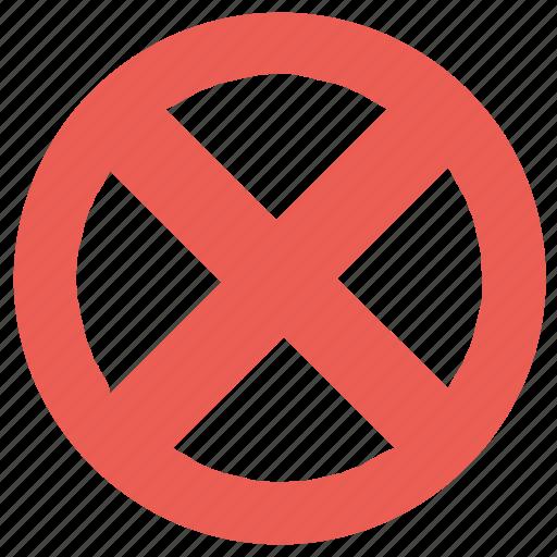 delete, remove, round, x icon