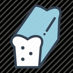 bake, bakery, bread, gluten, loaf, wheat icon