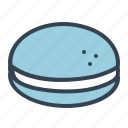 bread, burger, food, hamburger, junk, sandwich icon