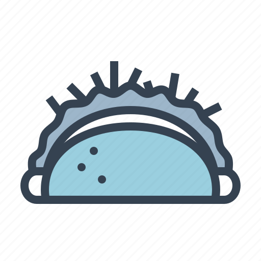 Burrito, food, mexican, tortilla, wheat, wrap icon - Download on Iconfinder