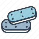 biscuit, chocolate, confectionery, cookies, dessert, sweet, treat icon