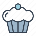 confectionery, cream, cup, dessert, ice, sugar, treat icon