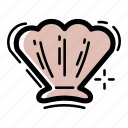 clam, dinner, food, ocean, restaurant, sea, shell icon