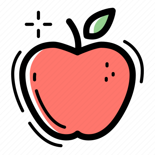 apple, food, fruit, healthy, nutrition, sweet, vegetable icon