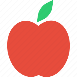 apple, carbs, food, fresh, fruit, healthy, starch icon