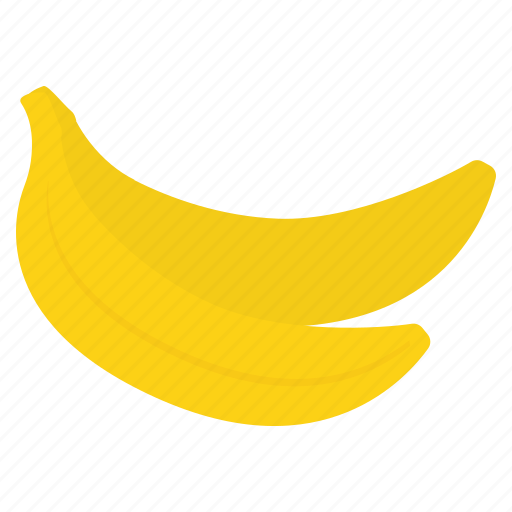 banana, food, fresh, fruit, healthy icon