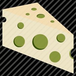 cheese, eat, slice, soy, tempeh, tofu, vegan icon