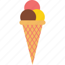 candy, cone, dessert, icecream, sugar, sweet, treat icon