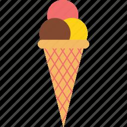 candy, cone, dessert, icecream, sugar, sweet, treat icon